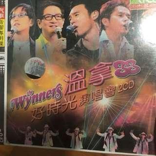 Brand new sealed wynners cd alan tam