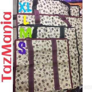"Tas Karung Terpal ""XL"" ukuran 55 x 25 x 65 cm Laundry Bag"