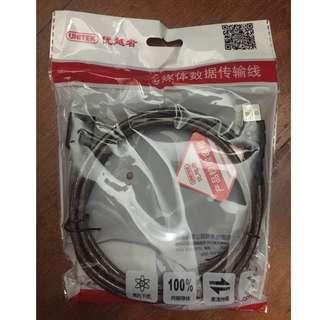 UNITEK Y-C416 USB2.0 AM-AF data Data 480 Mbps High-Speed Pure Copper Transmission 1.8M Cable