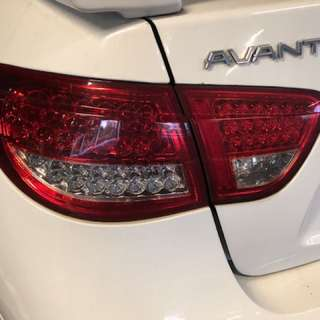 Tail light and head light Hyundai Avante 1.6 2009