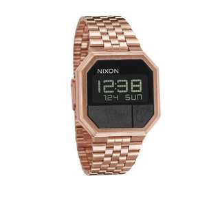 Nixon Rose Gold Rerun