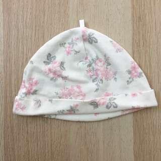 Pink Floral Cap