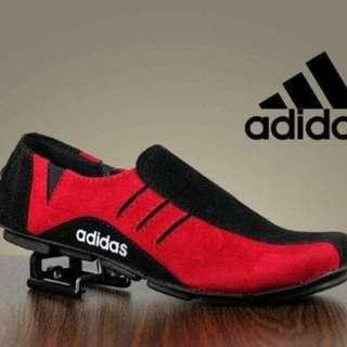 sepatu pria formal casual santai slop slip on adidas neymar murah