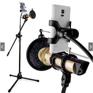 Studio Broadcasting Recording Microphone Kit (No Mic,Phone)