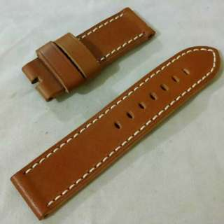 Panerai 24MM Brown Leather Strap