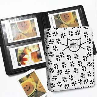 64 Pockets Mini Instant Polaroid Photo Album for Fujifilm Instax Mini Film 7s 8