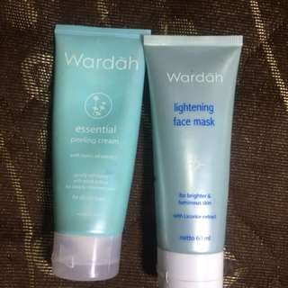 Peeling cream & face mask