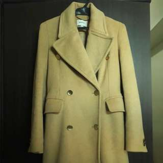 Stradivarius Lady Wool Trench Coat