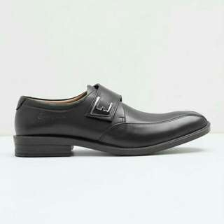 Men Ed Buckle AX-41 Loafer Black