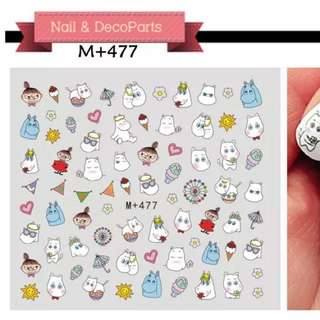 Moomin Nail Sticker