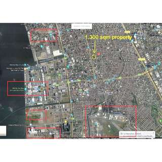 ​For Sale 1300 sqm Property in Padre Zamora St. Pasay City near EDSA