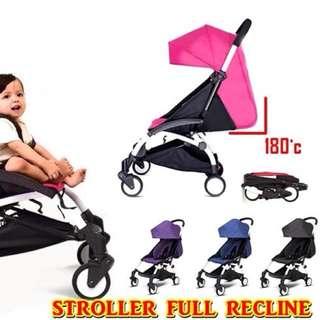 Stroller Cuteby Full Recline