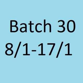 Batch 30