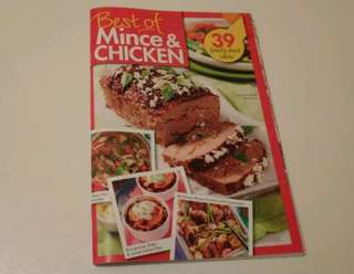 Best Of Mince & Chicken Recipe Booklet. New