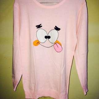 Sweater Rajut Soft Pink Patrick