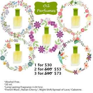 Countryside Flowers Oil Perfumes 30ml