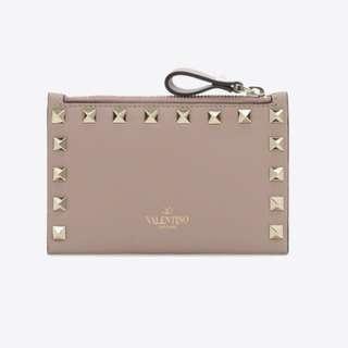 Valentino Rockstud CoIn Purse & Card case
