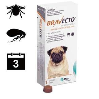 Bravecto S (4.5-10kg)