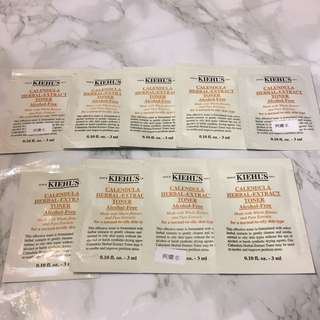 9x Kiehls 金盞花爽膚水 Calendula Herbal Extract Toner 3ml Sample