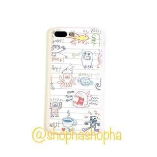 Doodle phone case soft  漫畫手機殼 軟殼 包四邊