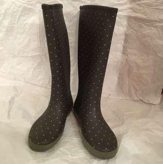 Muji rain boots 👢