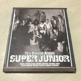 """Super Junior - The Second Album """"Don't Don"""" (Original from Korea)"""