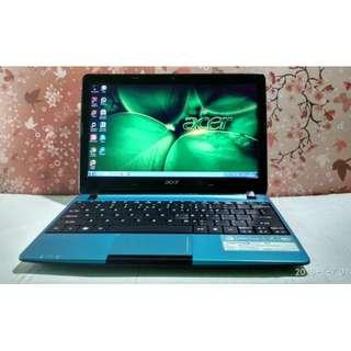 Laptop Notebook Murah Berkualitas Acer Aspire One 722 RAM 2GB+320GB HD