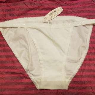 New Victoria's Secret All White String Bikini