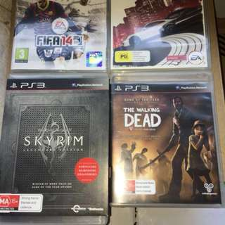 X4 PS3 Games Bundle! NEED TO GO!