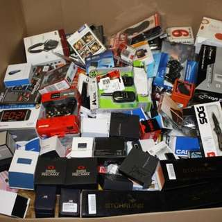 ELECTRONIC AND GADGETS WHOLESALE PALLET