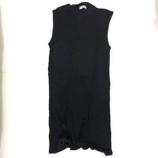 RICHY DOLLY Black Knee-Length Dress