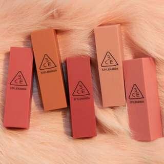 3CE Mood Recipe Matte Lip Color