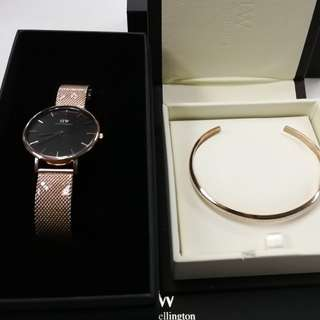Daniel Wellington Petite Ashfield Melrose and Sterling