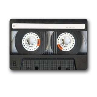Cassette Tape Home Doormat