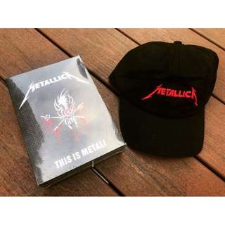 METALLICA Box Set + Cap (MINT)