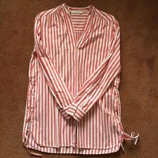 Brand new zara XS/S cotton long shirt