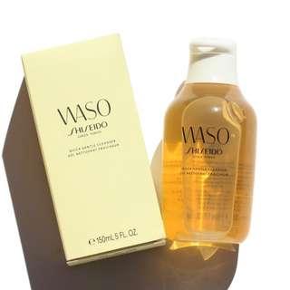 5折 Shiseido WASO Quick Gentle Cleanser 蜂蜜速效溫和潔面啫喱 150ml cleansing gel