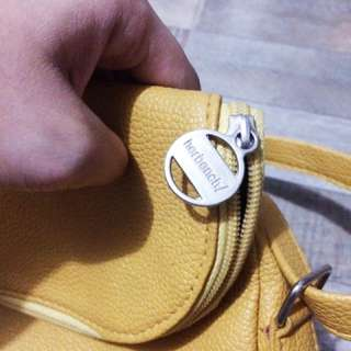 LAST PRICE! Mustard Yellow Sling Bag