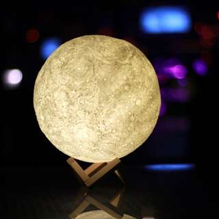 3D Moon Lamp USB LED