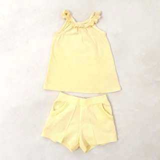 Mothercare Playsuit Yellow