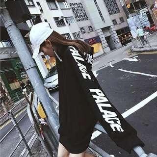 30ffe74025c2 Palace inspired long sleeve hoodie