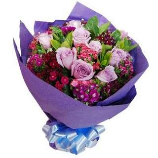 Valentine Kiss Bouquet V146 - Ybxva