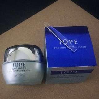 BNIB IOPE Eye cream plant stem cell skin renewal eye cream