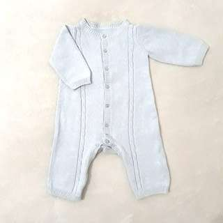 Mothercare Sleepsuit Knited blue