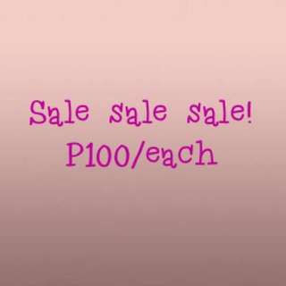 sale ! 100 each