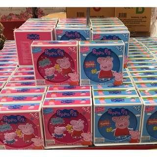 泰國限定佩佩豬餅乾禮盒(藍色 粉色)