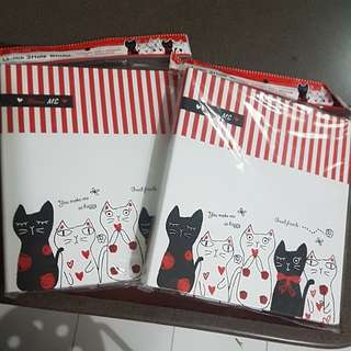 3 hole binder file from daiso
