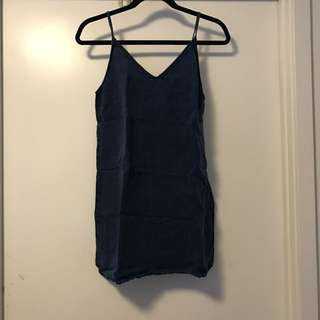 Wilfred Free Denim like Mini Dress