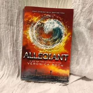 Allegiant novel by Veronica Roth