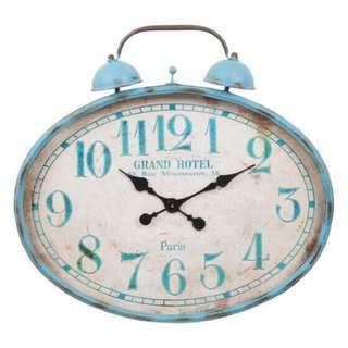 """Urban barn large wall clock - 22"""" x 28"""""""